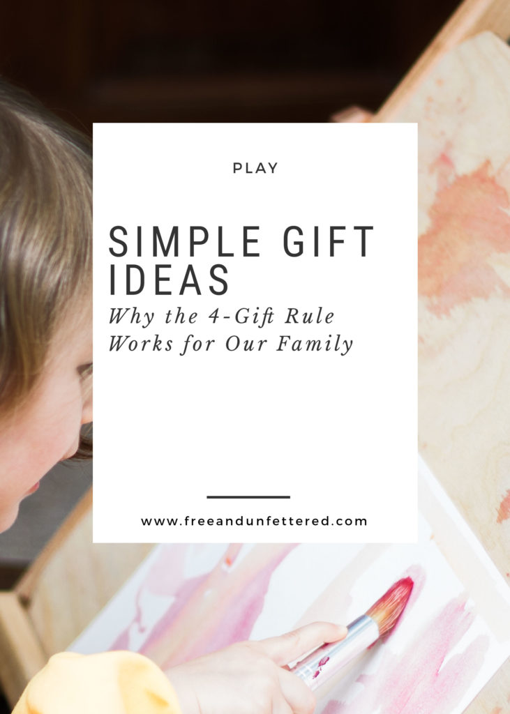 Why I Love The 4 Gift Rule Free And Unfettered