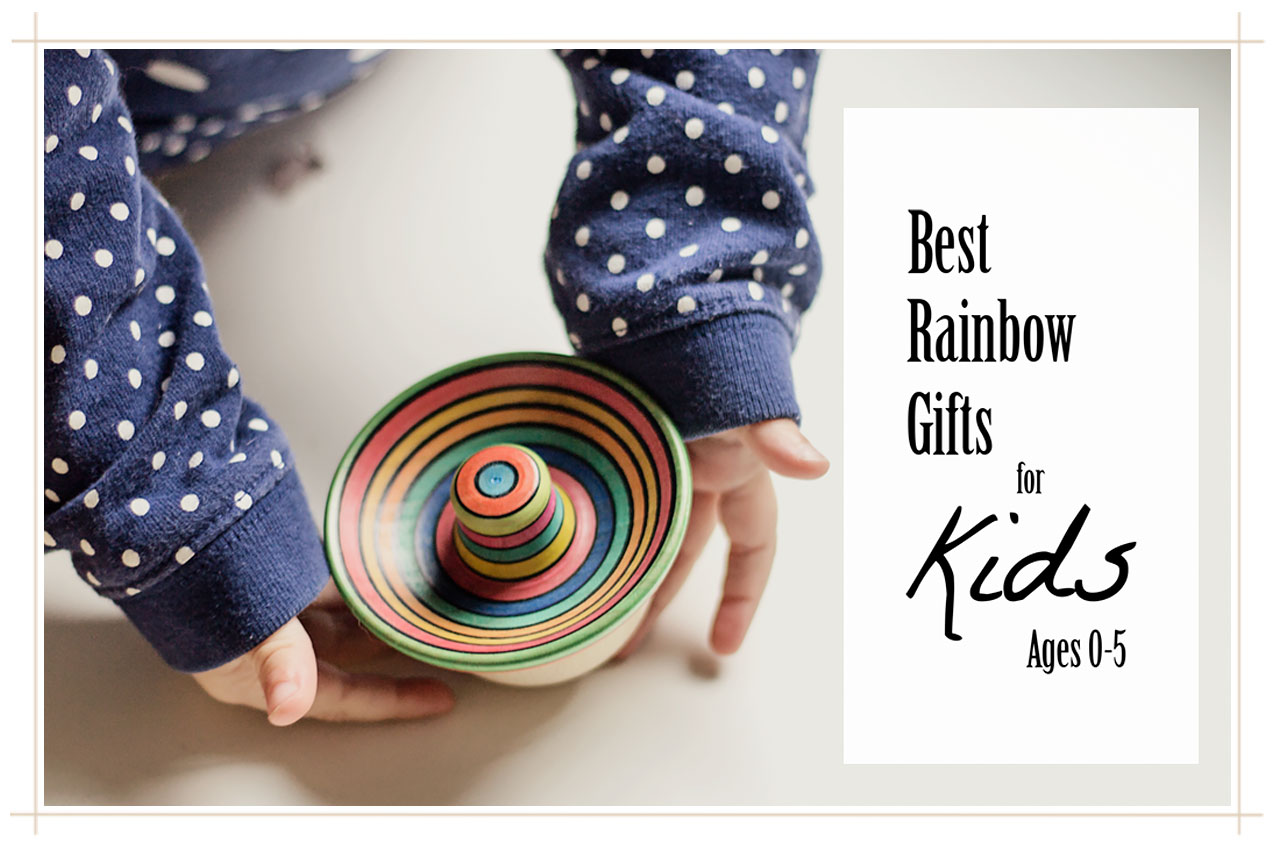 The Best Rainbow Gifts for Kids