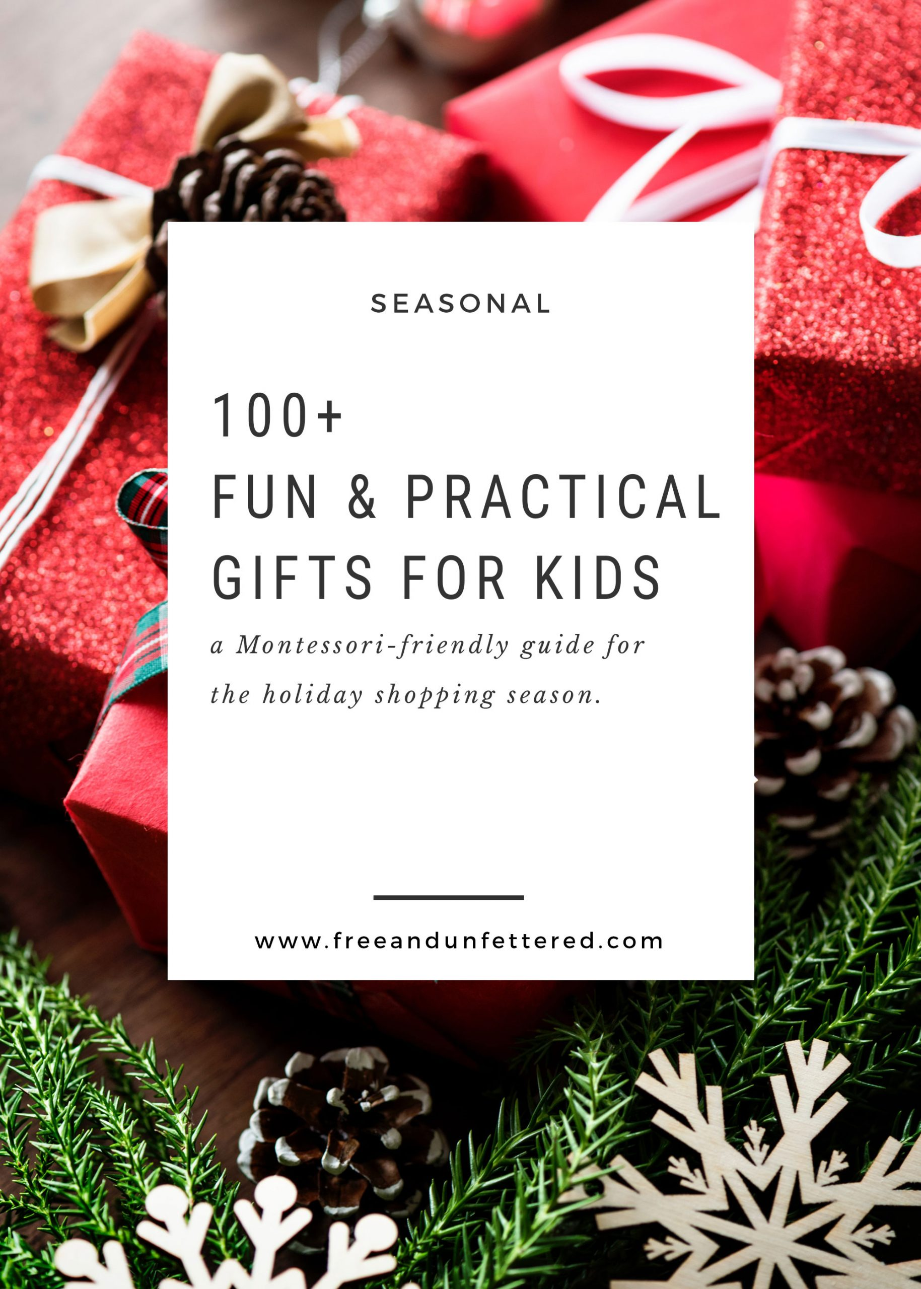 100+ Fun and Practical Gifts for Small Children