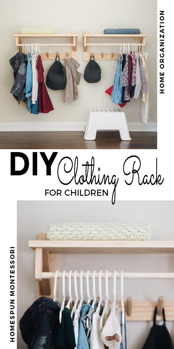 Diy Clothing Rack With Shelf Free And Unfettered
