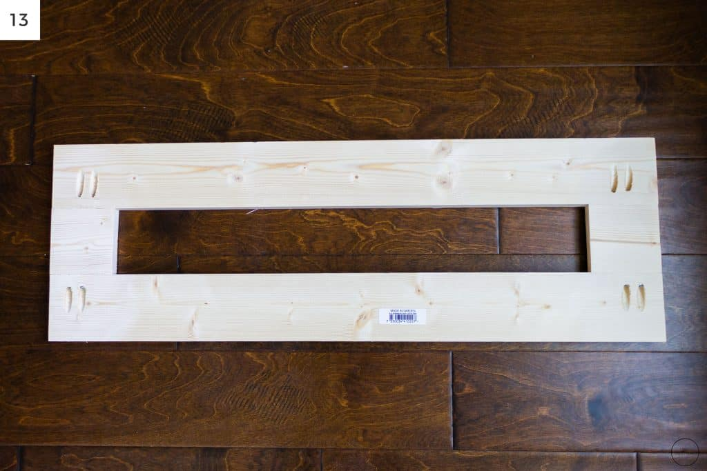 a platform made from 1x3s that will raise up the IKEA Billy bookcases