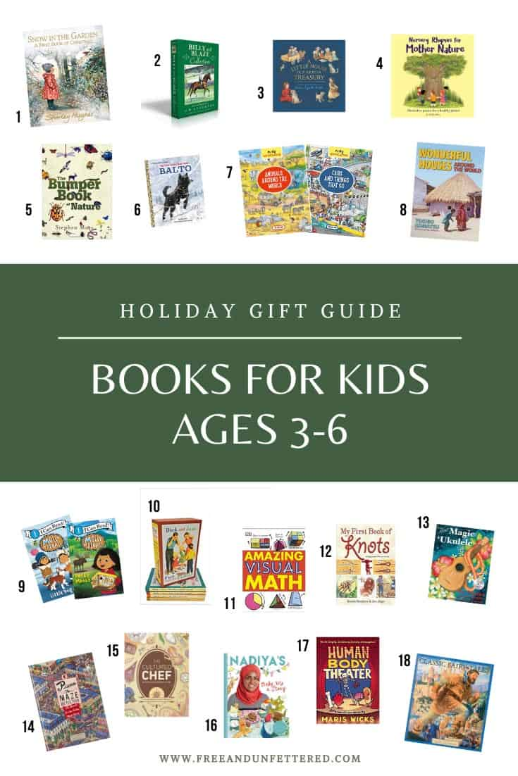 Check out some of our favorite Montessori-friendly gift ideas for children ages 3-6 at www.freeandunfettered.com. Click through to read about some of our favorite board games, books, open-ended toys, and educational materials that your child will love!