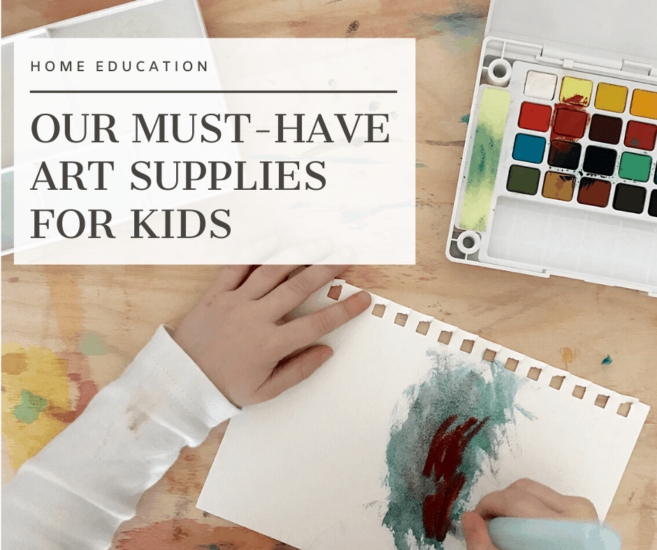 Our Must-Have Art Supplies for Kids