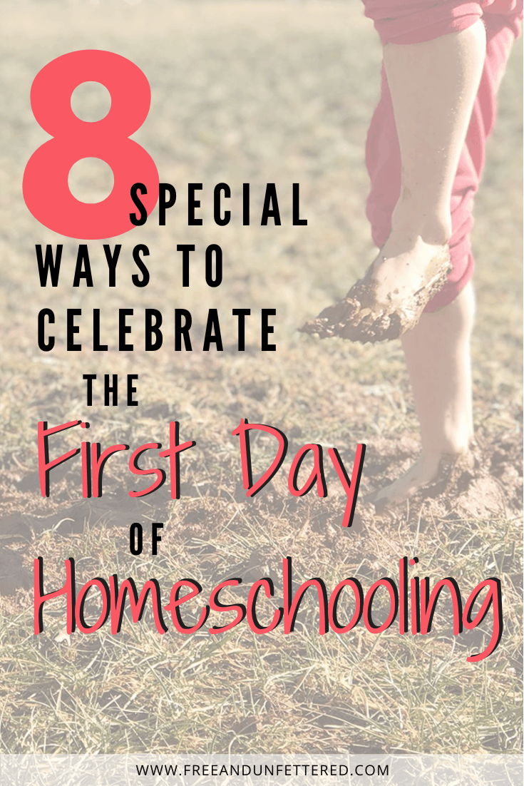 Are you looking for ways to celebrate the first day of homeschooling with your children? Check out 8 fun-filled traditions that you can easily start this school year! #backtoschool #familytraditions #homeschooling #homeschoolingideas #firstdayofhomeschool #makehomeschoolingfun